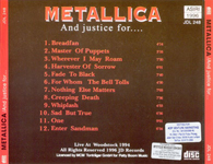 AND JUSTICE FOR... (LOGO ON COVER)