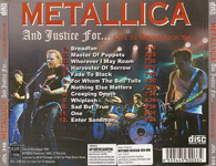 AND JUSTICE FOR... (RE-ISSUE) (SILVER LETTERS) # 2